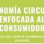 Informe del CESE sobre una Economía Circular orientada al consumidor