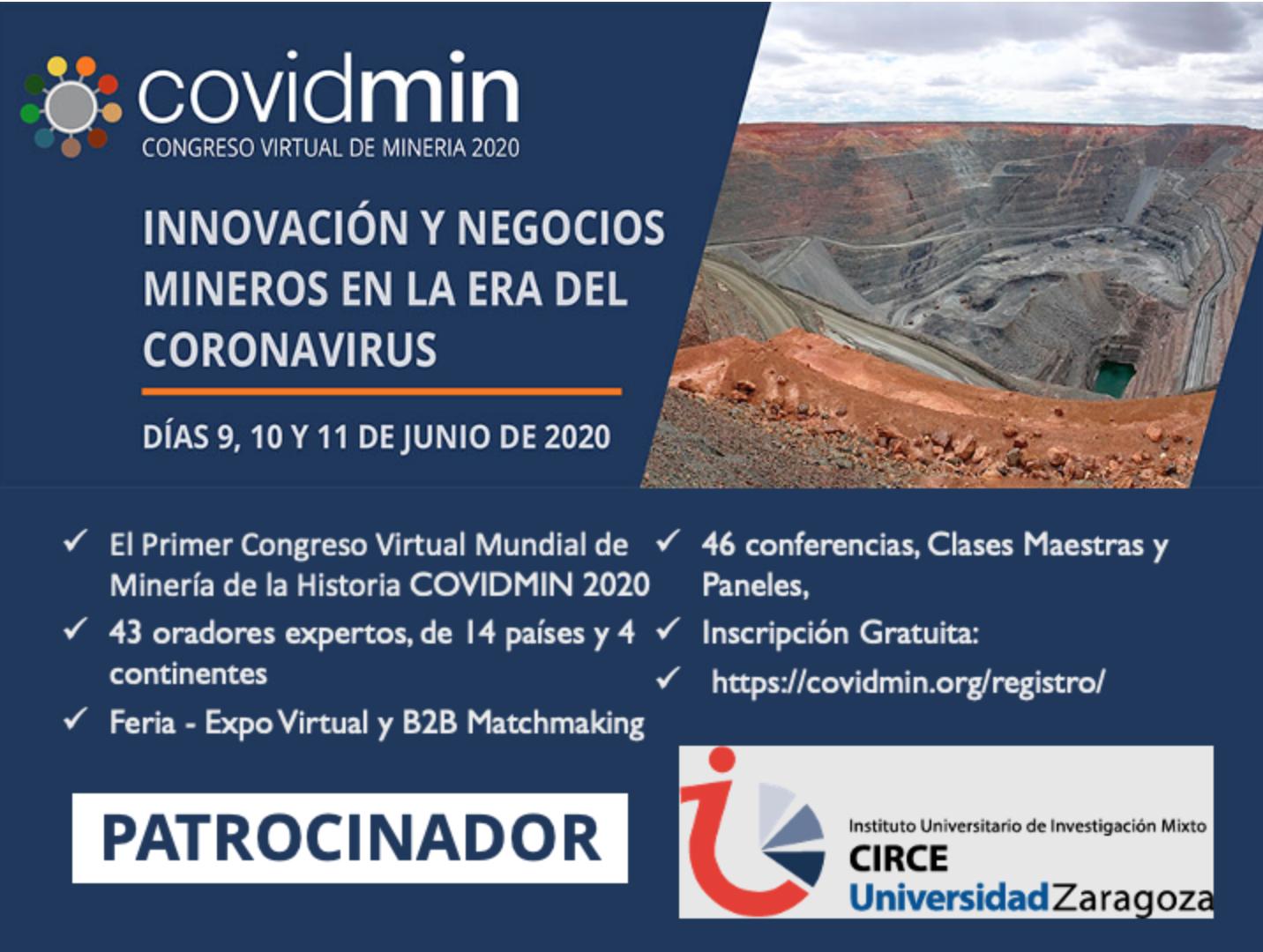 Congreso Virtual de Minería: Covidmin2020