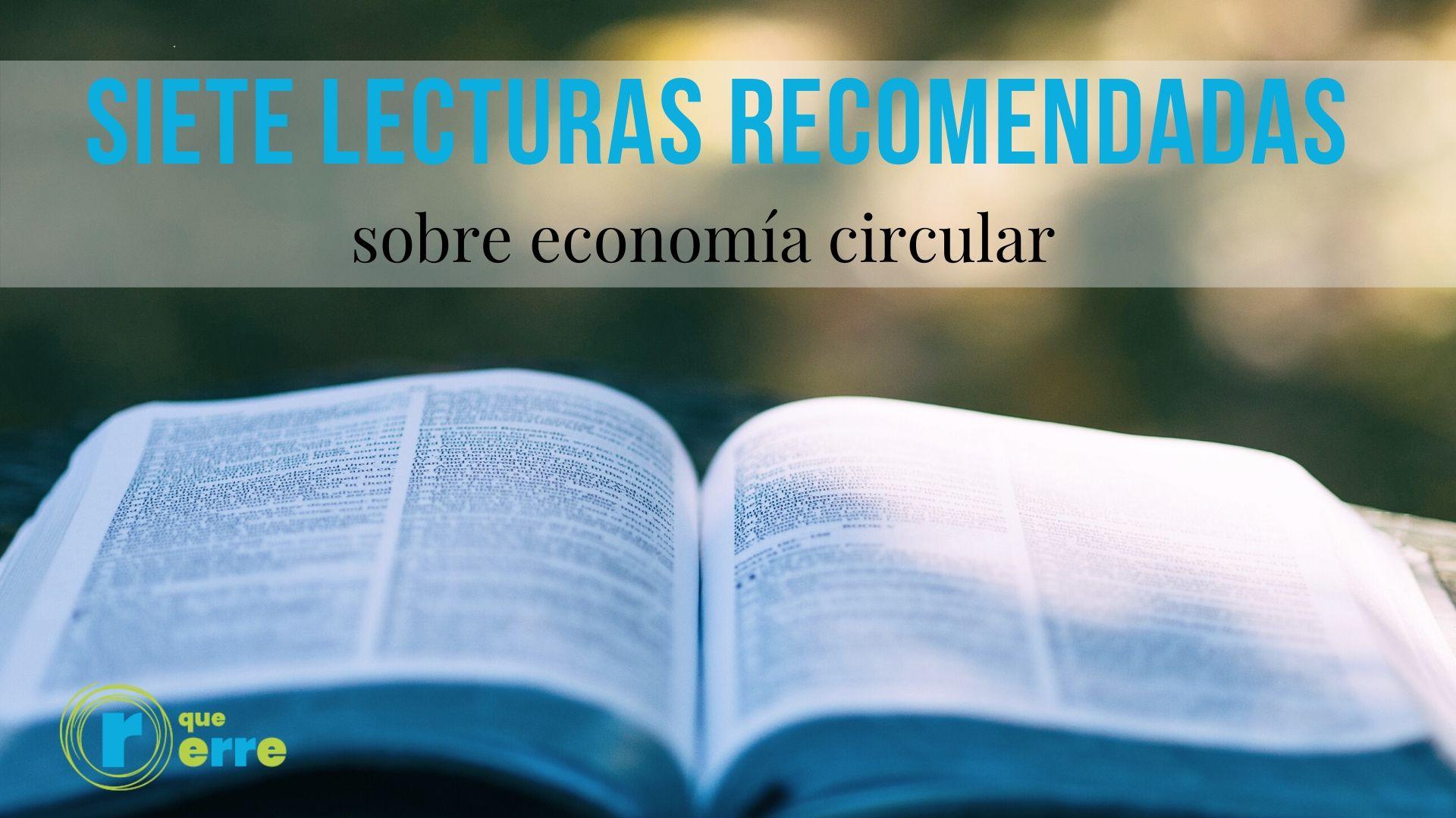 Siete lecturas sobre economía circular para el Día del Libro