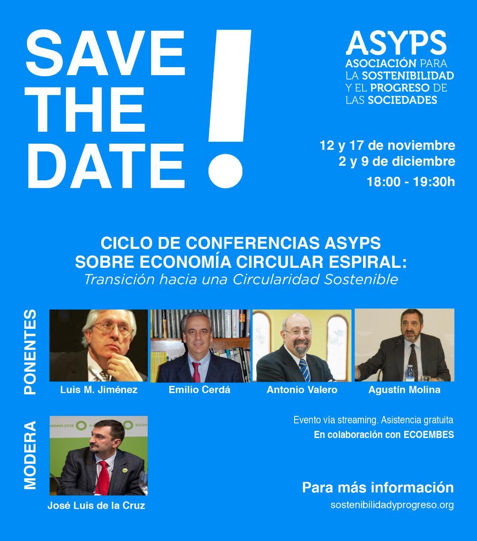 Ciclo de Confencias ASYPS: Economía Circular-Espiral